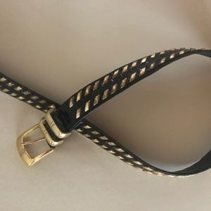 Cache  St Marten -Black and Gold Belt